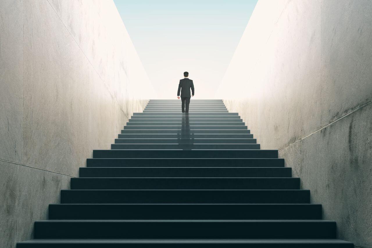 Karriere Machen So Erklimmst Du Ohne Höhenangst Die Karriereleiter